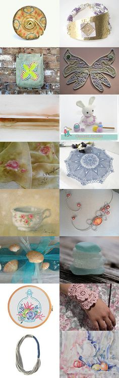 Gentle and Soft... by Yurika on Etsy--Pinned+with+TreasuryPin.com