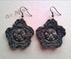 Crochet earrings, by Cloe Bijoux , 6,00 € su misshobby.com