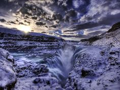 Iceland features some of the most alien landscapes in the world, from huge, partially frozen waterfalls, to the Northern Lights and insane sunsets and sunrises, to miles of barren tundra; not to mention an outgoing population who's down to party.