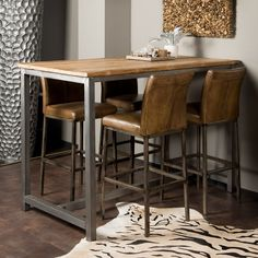 "Fantastic ""high top tables bar"" detail is offered on our web pages. Check it out and you wont be sorry you did. High Top Table Kitchen, High Top Tables, Pub Kitchen Table, Patio Bar Set, Pub Table Sets, Small Apartment Interior, Kitchen Interior, Muebles Living, Cafe Bar"