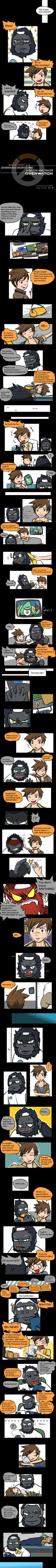 overwatch Comics #15 WINSTON AND TRACER Part1 by picketG