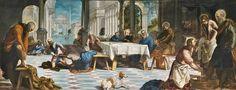 """""""Extravagante, caprichoso, presto y resuelto, Tintoretto es el cerebro más terrible que haya existido"""". Vasari  El pintor italiano Jacopo Robusti Tintoretto, fallecía el 31 de mayo de 1594 en Venecia. """"El Lavatorio"""", 1548-1549"""