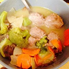 Julie Foucher CrossFit One of my Pre-Made Paleo faves...turkey and broccoli soup