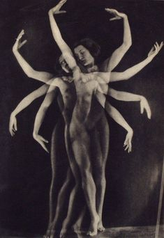 "YVA [Else Simon] (German, 1900-1942). ""Danse"". Original vintage photogravure. c1933. Printed 1933."
