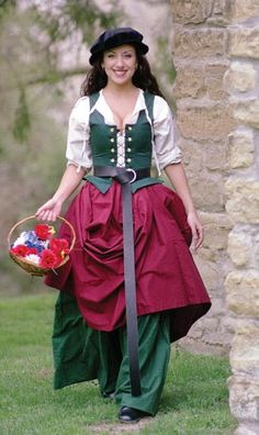 Market Wench renaissance bodice medieval wench wear