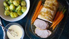 Velký kus vepřové pečeně je atraktivní na pohled, možná ale máte obavy, že bude vysušený abez chuti. Nemusíte se bát – inspirovala jsem se propracovanými recepty mistrů grilu, akdyž dodržíte postup, pečínka bude jemná akrásně šťavnatá. Pork, Kale Stir Fry, Pork Chops