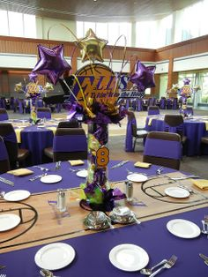 setting the mood lakers inspired mitzvah