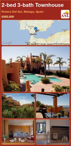 Townhouse for Sale in Riviera Del Sol, Malaga, Spain with 2 bedrooms, 3 bathrooms - A Spanish Life