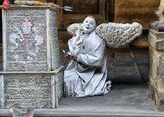 Photo by © Renzo Baggiani Lion Sculpture, Statue, Ghosts, Ph, Street, Fotografia, Roads, Sculpture, Demons