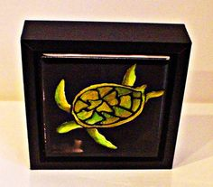 turtle decor  turtle art and collectable  by DawnsINKSpirations