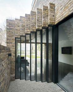 #architecture #homedesign #interiors #renovation #london #brick