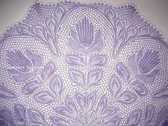 Шикарная шаль *Лира* спицами - Модное вязание