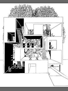 MVRDV Double House. Great idea for 2 people living together but being not able to merge living style ... ;)