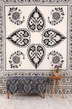 Scarf Medallion Tapestry