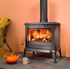 Franco Belge Monaco Multifuel / Wood Burning Stove | Bradley Stoves Sussex |http://www.woodburners.co.uk/_-Franco-Belge-Monaco-Multifuel-Wood-Burning-Stove-_/product/?pid=86613