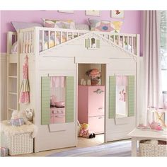 Play house with a bed!