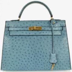 Hermes: Vintage Kelly Ostrich Leather bag http://shpst.ly/uk437012644?pid=uid1281-9092841-54