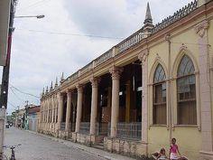 Antiga Estação de Trem de Nazaré_Bahia_Brasil