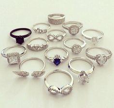 ❤❤❤ Fancy Jewellery, Stylish Jewelry, Cute Jewelry, Hand Jewelry, Jewelry Rings, Jewelry Accessories, Fashion Rings, Fashion Jewelry, Accesorios Casual