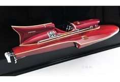 Model is Museum-quality edition of the famous Ferrari Hydroplane Half Hull Boat Fast Boats, Speed Boats, Nautical Wall Decor, Nautical Gifts, Nautical Art, Hull Boat, Model Maker, Best Classic Cars, Tall Ships