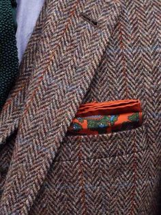 Fall fashion accessorizing.