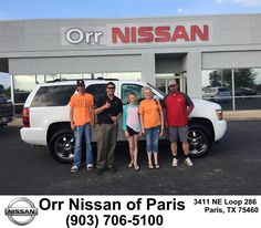 https://flic.kr/p/GdgPcy | Congratulations Daren & Carrie on your #Chevrolet #Tahoe from Derek Jones at Orr Nissan of Paris! | deliverymaxx.com/DealerReviews.aspx?DealerCode=J476