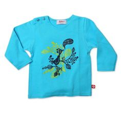 Zutano Baby Girls Hello Friends Long Sleeve Screen T shirt Pool 24 Months ** More info could be found at the image url. (This is an affiliate link) #BabyGirlTops