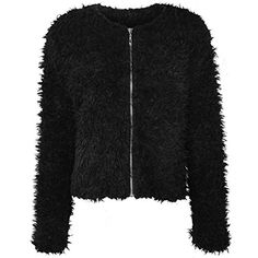 Fashion Thirsty Women's Warm Fluffy Faux Fur/Mohair Jacket >>> Learn more by visiting the image link. Winter Coats Women, Coats For Women, Outdoor Gadgets, Women's Coats, Boutique Shop, Cool Items, Vest Jacket, Boutiques, Vests