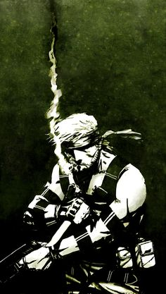 Metal Gear Rising - Solid Snake by ~CptFury