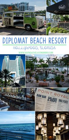Dip & Dine At The Newly Renovated Diplomat Beach Resort In Hollywood, Florida! #ad #DipAndDine