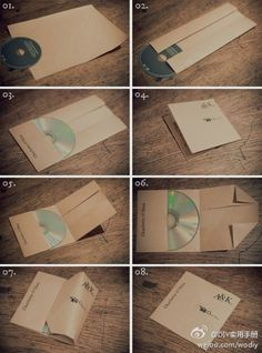 DIY CD Envelope