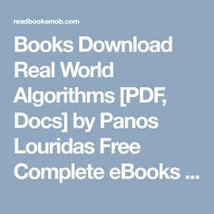 Books Real World Algorithms Pdf Docs By Panos Louridas Free Complete Ebooks