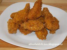 Aripioare de pui crocante ca la KFC (Crispy Wings) Kfc, Pizza, Meat, Chicken, Food, Essen, Meals, Yemek, Eten