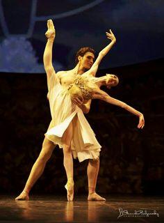 Lucia Lacarra and Marlon Dino /Dance Open in St.Petersburg /photo by Stanislav Belyaevsky