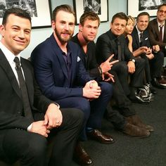 Jimmy Kimmel. Avengers.