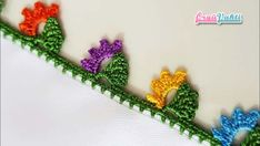 Crochet Borders, Crochet Stitches, Crochet Hats, Creative Embroidery, Crochet Instructions, New Crafts, Color Theory, Crochet Earrings, Flowers