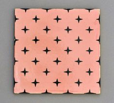Carter tile from 1960 with geometric design