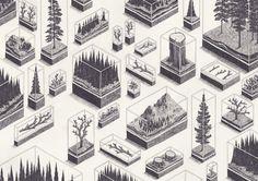 "nickkahler: "" Jamie Mills, Forests, 2013 (via beaubourg) """