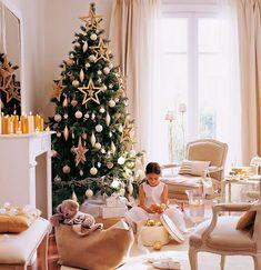 стильно украшенные новогодние елки фото, варианты украшения новогодней елки фото, примеры украшения новогодних елок, новогодняя елка с золотыми украшениями