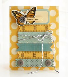 Cute card by Roree Rumph using Crate Paper