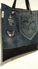 Saco em Jeans/ganga
