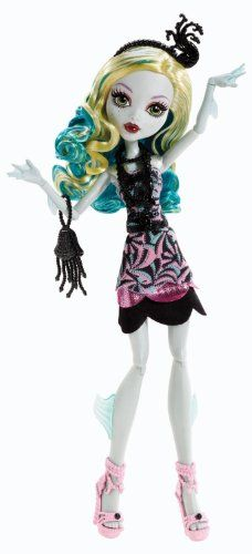 Monster High Frights, Camera, Action! Black Carpet Lagoona Blue Doll Mattel,