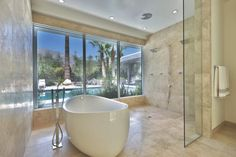 Soak up these luxury tubs >> http://blog.hgtv.com/design/2015/07/24/photo-friday-soak-up-these-luxury-tubs/?soc=pinterest