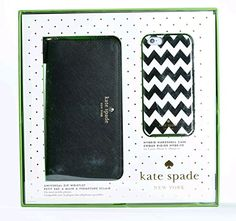 "Kate Spade Iphone 6/6s Set Hybrid Hardshell Case & Zip Wristlet, Black & White  Package includes 1 Kate Spade New York Chevron Case for iPhone 6 & 6s and 1 Black Saffiano Universal Zip WristletKate Spade New York Unique Black Chevron Case Design for iPhone 6 & 6SKate Spade New York Wristlet Wallet with Card Holder & ID Slot (Can fit smartphones up to 5.7"")  http://dailydealfeeds.com/shop/kate-spade-iphone-66s-set-hybrid-hardshell-case-zip-wristlet-black-white/"