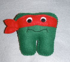 tooth fairy pic | Teenage Mutant Ninja Turtle Tooth Fairy Pillow by JustSEWSpecial