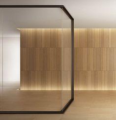 evolvinwall EW1 | Vetro In: leader arredo ufficio in vetro e design d'interni