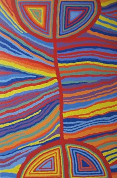 Artlandish Gallery wishes to showcase this fine Aboriginal artwork by Judy Watson Napangardi / Mina Mina Dreaming (1A) is the title of the work. Click the painting to view more details and lots more incredible artworks from these amazingly talented artists. Thanks for viewing and have a great day!