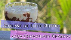 Mousse de Leite Ninho com Chocolate