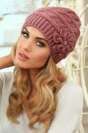 Imagini pentru caciuli crosetate dama Knitted Hats, Crochet Hats, Winter Hats, Knitting, Fashion, Knitting Hats, Moda, Tricot, Fashion Styles