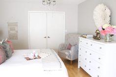Pink Bedroom Decor for Valentine's Day